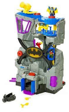 d94776661ae7 Fisher Price Imaginext DC Super Friends Batcave Batman Robin Bat Cave Play  Set Batman Toys For