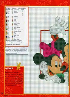 ♥Meus Gráficos De Ponto Cruz♥: Disney: Carinhas da Turma do Mickey em Ponto Cruz
