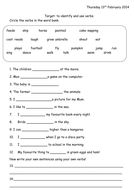 3 Verb Worksheets, Teaching Resources, Sheet Music, Math Equations, Music Sheets, Learning Resources