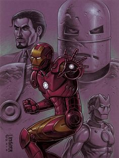 Iron Man by Joseph Michael Linsner