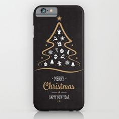 Merry Christmas 2017 iPhone & iPod Case