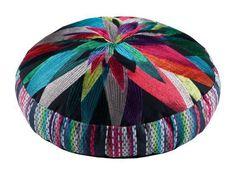 kas cushion cover fernanda multi floor design 60cm round home decor new cotton