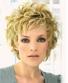 twenty Cute Curly Hairstyles for Short Hair | Hairstyles