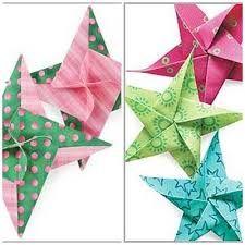 flores de origami - ESTRELLA