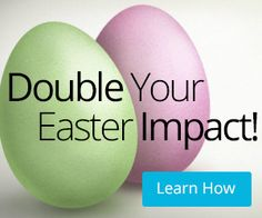 One in five families are deciding if they will attend an Easter service—up to two weeks ahead of Easter. Use these five tips to double your impact this Easter!