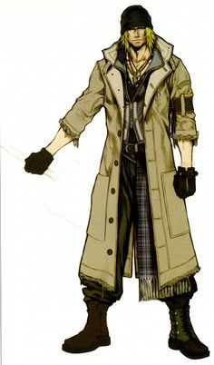 Week 13 - Final Fantasy XIII - Concept Art Mon -  Snow Villiers
