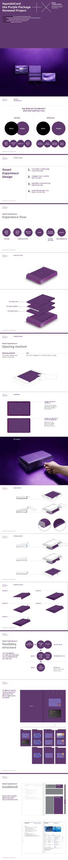 HyundaiCard the Purple Package eXperience Design 2011 on Behance