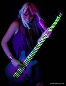 Bass Guitar Neon Wallpapers for Desktop Background - Bing Images