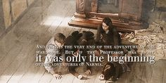 Chills and nostalgia are always a side effect of anything Narnian