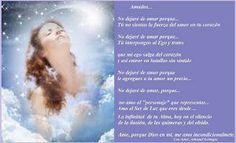 Sentires del AlmaNo dejaré de Amar. Por Ashamel Lemagsa.