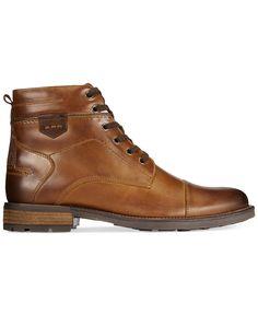 Alfani Jack Cap Toe Boots, Only at Macy's - Shoes - Men - Macy's