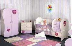 Baby Room Designs: Good Baby Room Pictures Free: Cute and Pretty for Baby's Room Designs