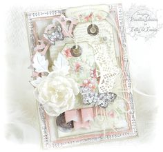 My Little Craft Things: Frilly and Funkie - Layer It Up Beautiful Handmade Cards, Handmade Flowers, Card Creator, Shabby Chic Cards, Spellbinders Cards, Mothers Day Cards, Flower Cards, Butterfly Cards, Vintage Crafts