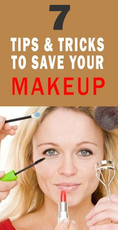 Many times because of our day to day we put on makeup incorrectly, and after hours on the street, we realize that we have left as the clown of IT. Do not worry! Healthy Women, Healthy Tips, Makeup Yourself, Save Yourself, Healthy Habbits, Make You Up, Beautiful Haircuts, Putting On Makeup, Perfect Eyebrows