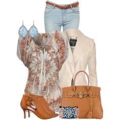 A fashion look from September 2014 featuring Jane Norman tops, Jane Norman jackets y Jane Norman jeans. Browse and shop related looks.