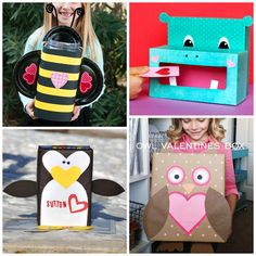 The Cutest Valentine Boxes That Kids Will Love Crafty Morning Simpel Valentines Day Box Ideas My Funny Valentine, Valentine Day Boxes, Valentines Day Party, Valentines For Kids, Valentine Day Crafts, Holiday Crafts, Holiday Fun, Valentine Ideas, Printable Valentine