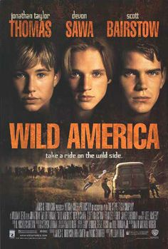 Wild America. LOVED this movie as a kid and why I still love owls. I watched it so much the VHS died on me