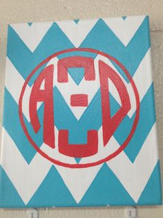 Love the AXiD monogram painting!