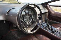 "rhubarbes: "" Maserati Boomerang 1972 via Blog Esprit Design """