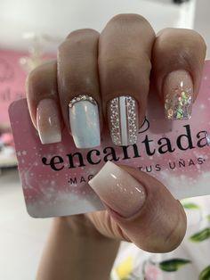 Beauty Spa, Beauty Nails, Hair Beauty, Best Acrylic Nails, Beautiful Nail Designs, Nail Decorations, White Nails, Short Nails, Summer Nails