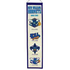 Charlotte Hornets Heritage Banner, Multicolor