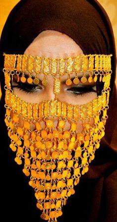a fashionable twist on niqab!