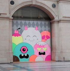 Buff Monster. #buffmonster http://www.widewalls.ch/artist/buff-monster/