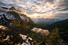"""Drama Queen - """"Drama Queen"""" - Allgäuer Alpen - Bayern  There only was this little time window, as the clouds slowly opened and the sun pierced through like as if someone had turned on the high beams. This is the moment when nature shows its tremendous power. My point of view was at least as dramatic. Clawed into the slope I could enjoy the show. Moments where you should be at full concentration. Because nature is trying to seduce your mind.  <a href=""""www.rheinwerk-verlag.de/3728"""">CHECK OUT…"""