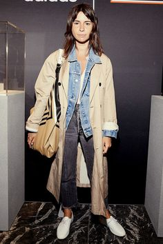Natasha Goldenberg with a bag Céline in TSUM at the opening of pop-up-space adidas Mode Outfits, Casual Outfits, Fashion Outfits, Fashion Mode, Minimal Fashion, Fashion Brands, Fall Winter Outfits, Autumn Winter Fashion, Moda Minimal