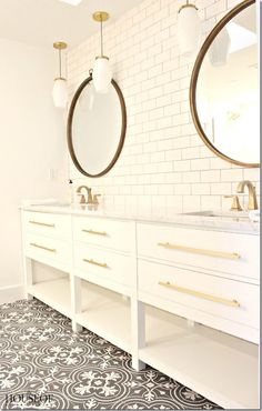 floor tile and subway tile                                                                                                                                                                                 More