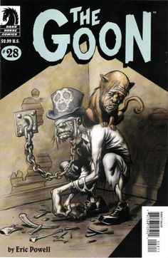 Cover for The Goon (Dark Horse, 2003 series) #28