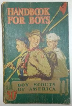 1940 Boy Scouts Of America Handbook For Boys by OtterCreekAntiques, $24.95