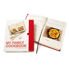 Look what I found at UncommonGoods: My Family Cookbook for $35 #uncommongoods