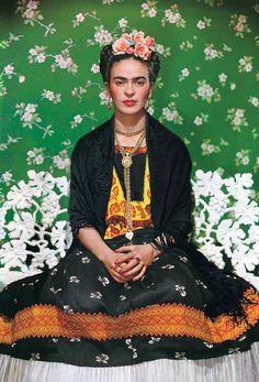 Frida Kahlo by Nickolas Muray