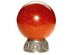 Pentacle Mini Crystal Ball
