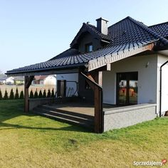 Outdoor Rooms, Outdoor Decor, Craftsman Style House Plans, Pergola Designs, Garden Design, Porch, Patio, How To Plan, Mansions
