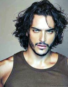 Cool long hairstyles men with beard