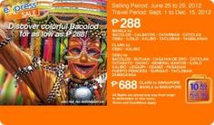 Discover colorful Bacolod and other exciting destinations for as low as P288 via Airphil Express!