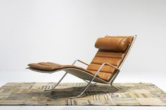 Grasshopper Chaise Lounge  ALFRED KILL FOR FABRICIUS/KASTHOLM 1968