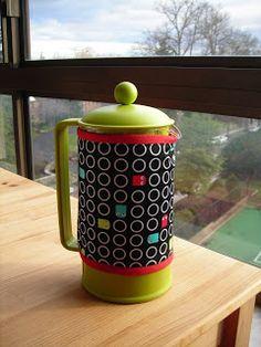 Pac-Man Coffee Cosy on my blog!