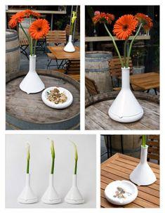 Tab A/B - Ashtray Vase or Planter - The Green Head