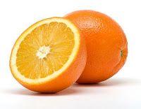Head notes: orange