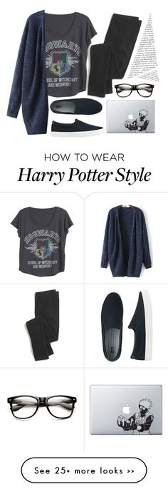 """I'm suppose to be writing, I'm horrible"" by imjustanotherdani on Polyvore featuring Uniqlo and Madewell"