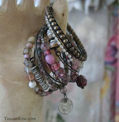 Bangle Stack Set 98a - Set Of 10 Bangles - Urban Gypsy Bracelets