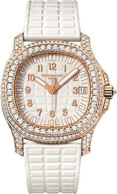 5069R-001 Patek Philippe Aquanaut Womens 18K Rose Gold Watch | WatchesOnNet.com