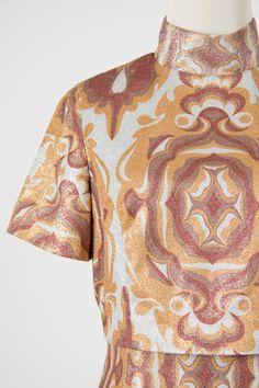Bronze prism dress | Little Wing Vintage