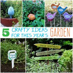 5 Crafty Ideas for This Year's Garden