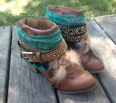 Custom Order Faux Leather Hippie Hipster Boho by TheGypsySoles