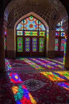 Architecture Discover Nasir-ol-molk Mosque in Shiraz Iran - PintoPin Persian Architecture Mosque Architecture Beautiful Architecture Beautiful Buildings Shiraz Iran Stained Glass Art Stained Glass Windows Persian Culture Beautiful Mosques Art Et Architecture, Persian Architecture, Mosque Architecture, Beautiful Architecture, Beautiful Buildings, Beautiful Places, Beautiful Mosques, Cultural Architecture, Stained Glass Art