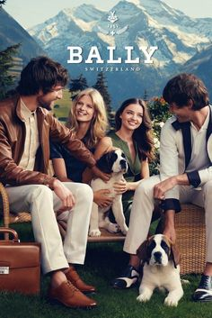 Swiss Alps serve as an impeccable backdrop for the Spring Summer 2012 Bally campaign featuring Julia Stegner and Miranda Kerr in a shoot by Norman Jean Roy. Fashion Advertising, Fashion Marketing, Advertising Campaign, Norman Jean Roy, Camping Style, Prabal Gurung, Classy Chic, Business Outfits, Business Clothes